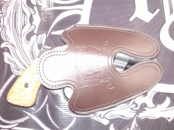 Fitz Special Large Leather Holster 2