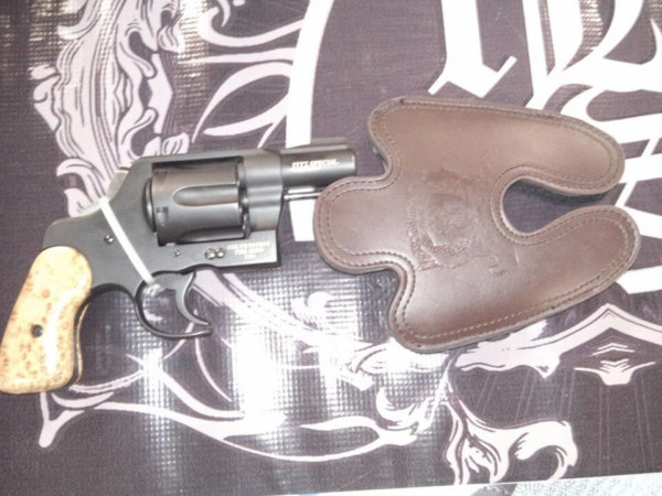 Fitz Special Large Leather Holster