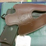 Para USA 1911 Expert Commander Brown Full Size Holster