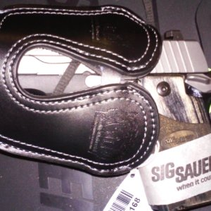 Sig Sauer - Black Leather Pocket Holster