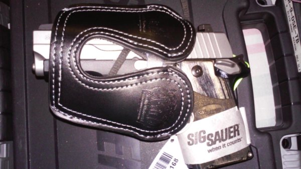 Sig Sauer - Black Leather Pocket Holster
