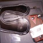 Sig Suaer P938 - Black Leather Holster - Pocket