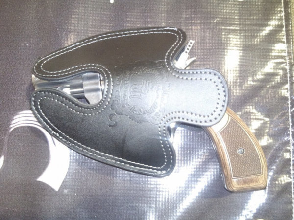 Smith and Wesson 646 Large Leather Holster