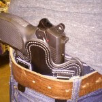 Full Size Leather Holster IWB
