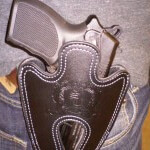 Leather Full Size Holster Belt Clip