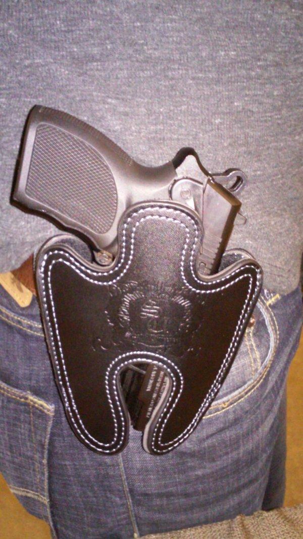 Leather Full Size Holster Belt Clip