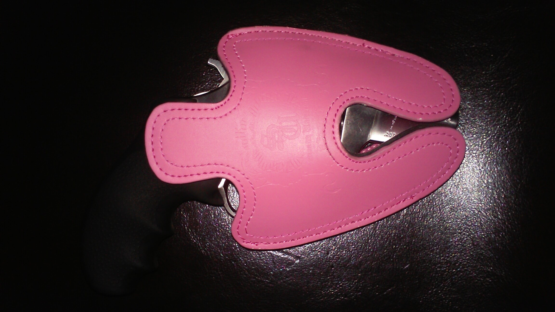 Ruger SP101 Pink Leather Holster Subcompact