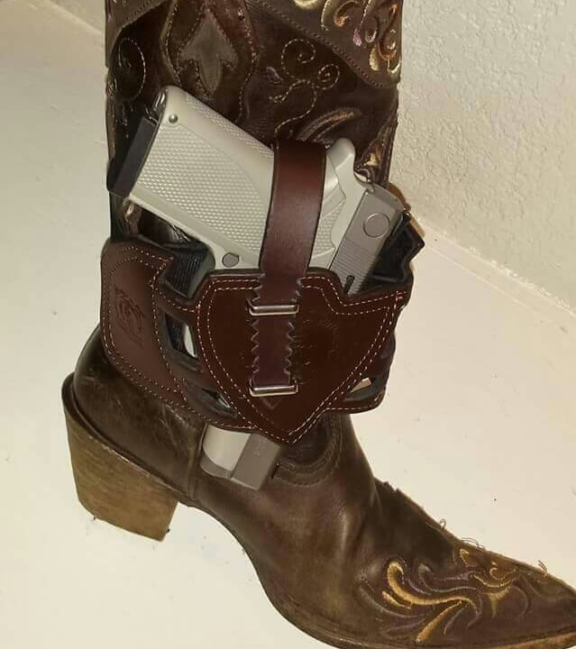 Leather Boot Holster