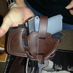 Kel-Tec PF-9 Brown Leg Holster