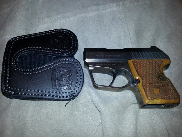 380 micro leather pocket holster