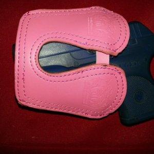 pink pocket holster